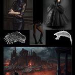Collage zu Böööööser Engel