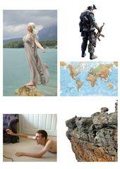 Collage zu Weltfrieden