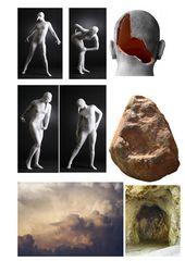 """Collage zu """"Wer bin ich"""""""