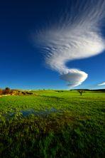 Colline e nuvole 1