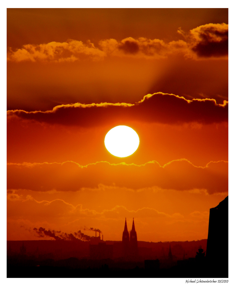 Cologne Sunset - Köln am Abend