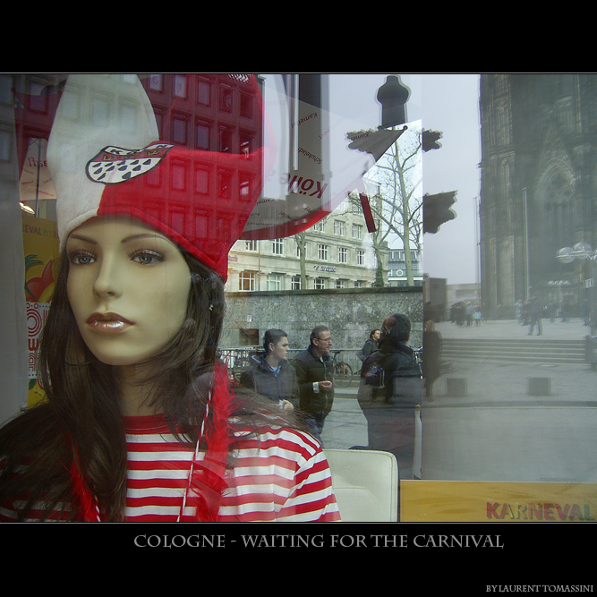 Cologne - Waiting for the carnival
