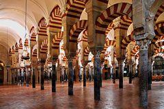 Colonnes de la Mesquita de Cordoue