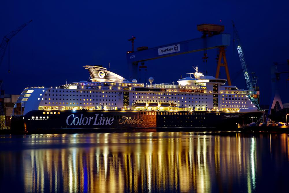 Color Fantasy bei HDW Kiel.