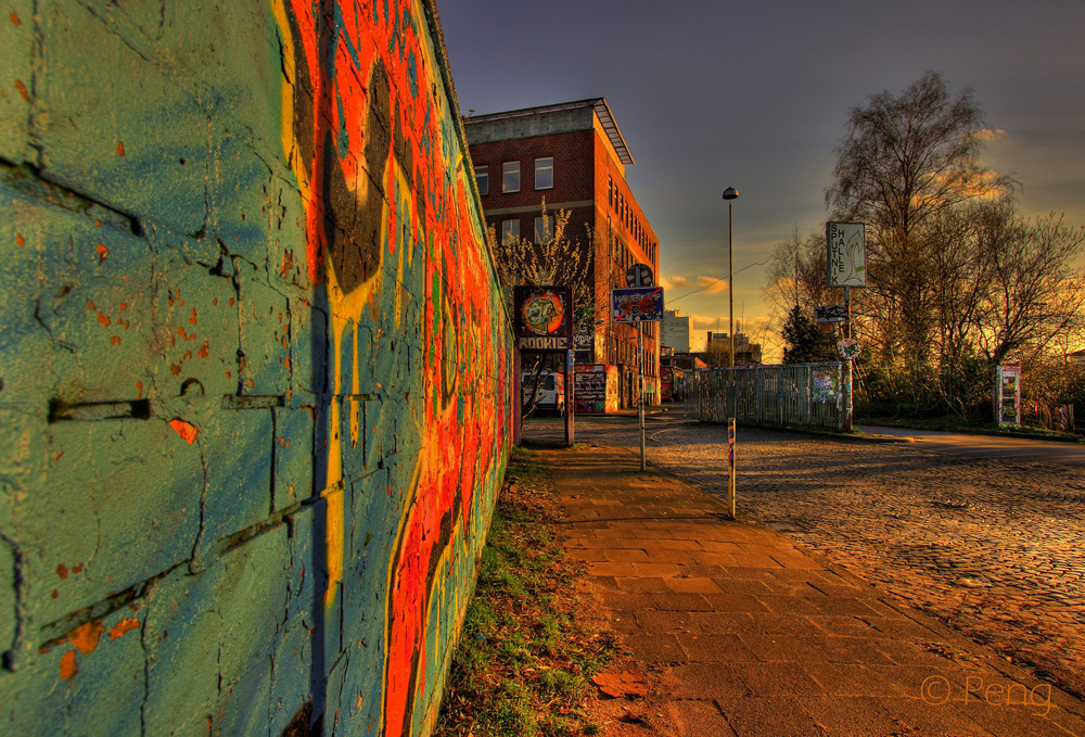 Color on the Wall