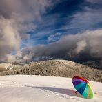 Colore la neige !