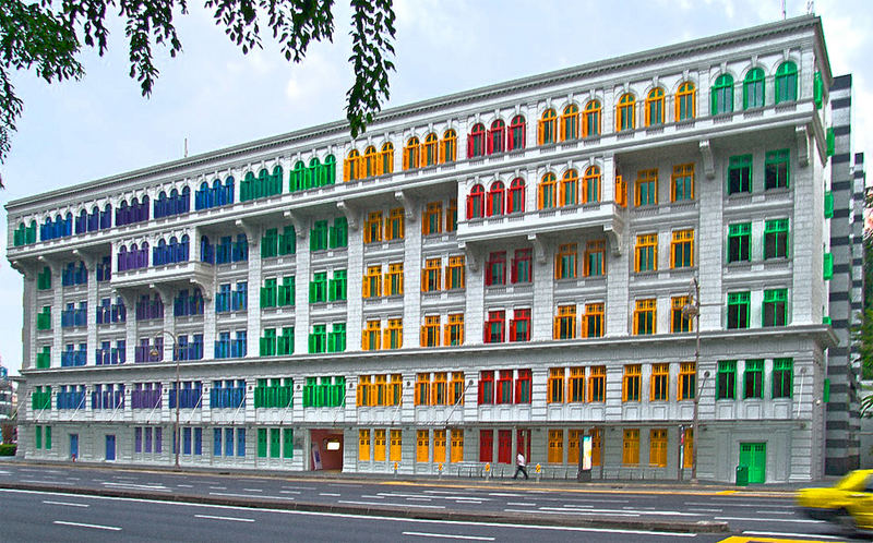 Colored House
