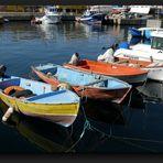 Colorful boats in Puerto de Mogan