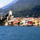 Colorful city of Malcesine