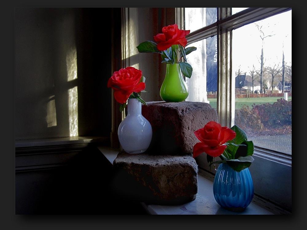 Colorful littlel vases...