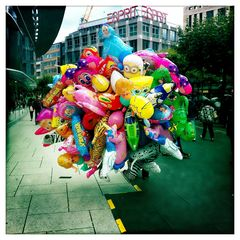 colorful streets Frankfurt