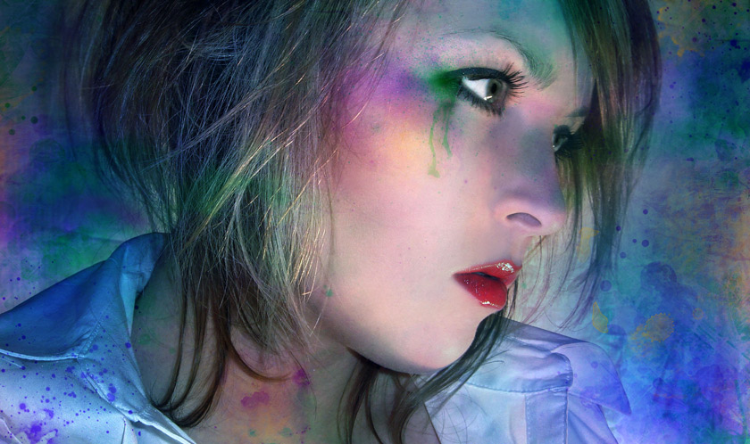 colorful teardrops von fashionDsign²