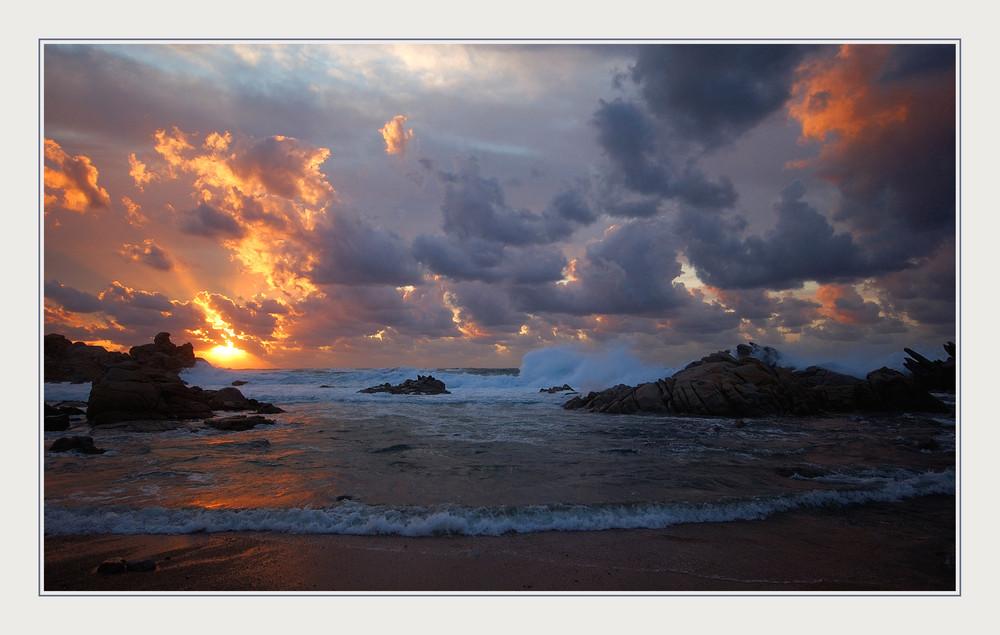 ... colori al tramonto ....