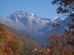 colori d autunno sulla vanoise, fr, savoia
