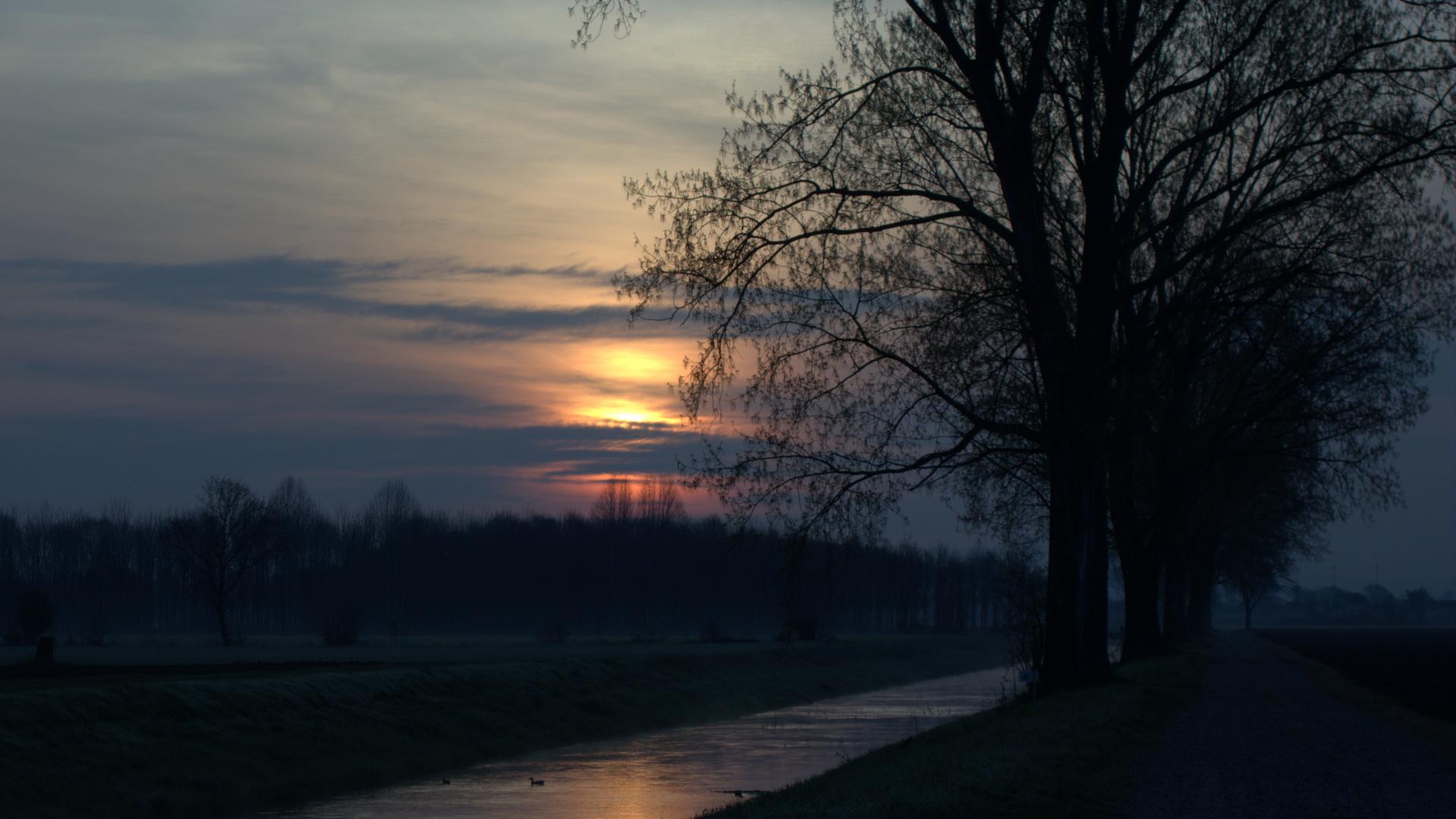 Colori dell'alba