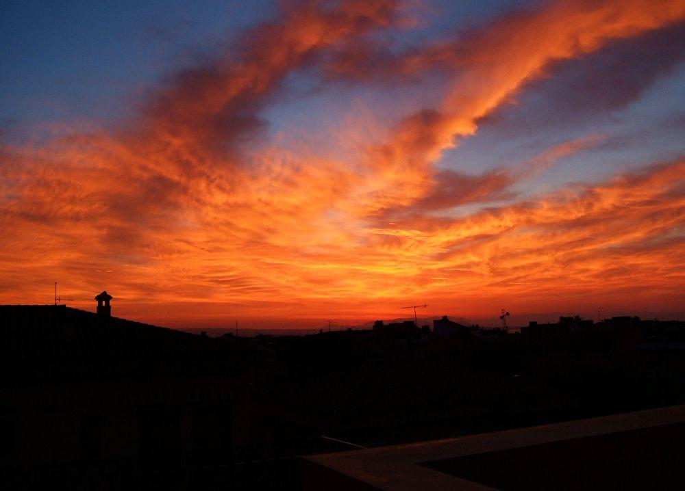 Colori dell'alba ( Isola di S. Pietro)