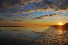 Colori e riflessi del mare d'inverno