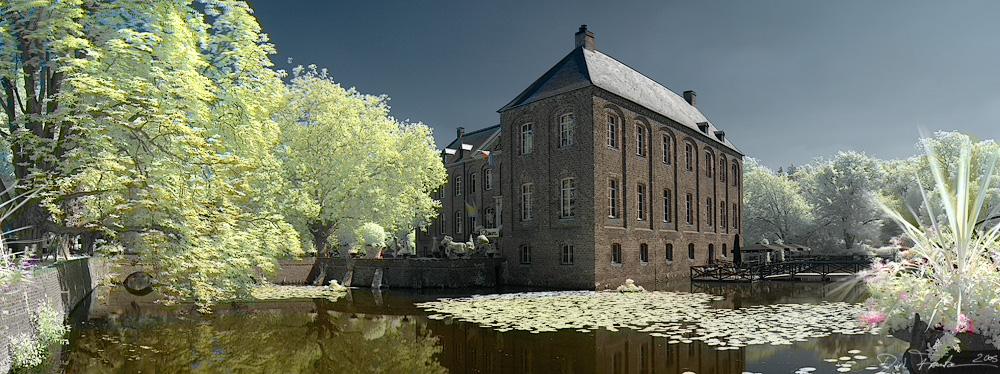| Coloriert: Schloss Arcen |