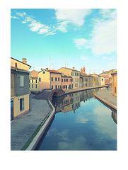 Colori...riflessi...canali...srentità di Comacchio