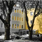 Colorkey - Haus in Gold