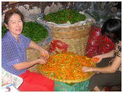 Colors of pepper