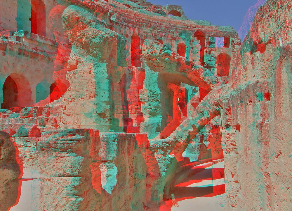 Coloseum III (3D für rot/cyan Brille)