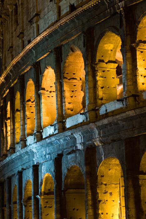 Colosseo di notte