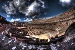 Colosseo, interno in HDR