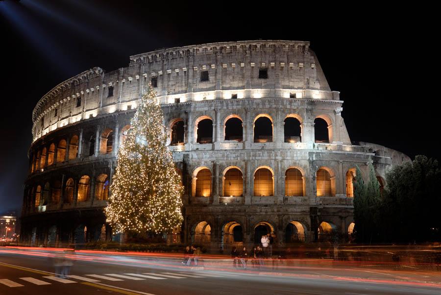 Colosseo natalizio
