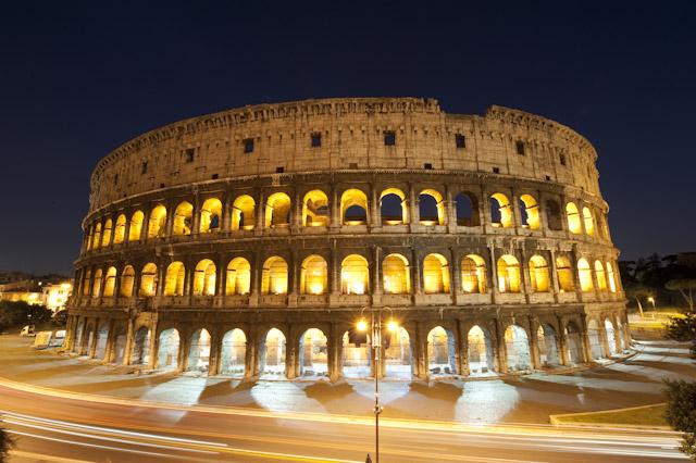 Colosseum by Night - Pamorama