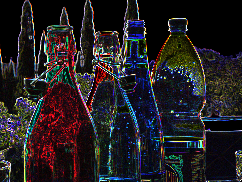 Coloured Bottles......2
