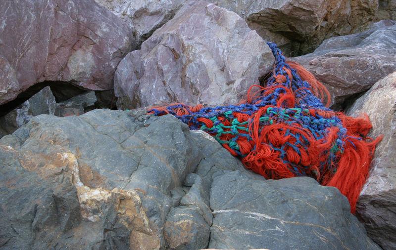 coloured rock
