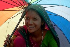 Coloured smile of Gujarat
