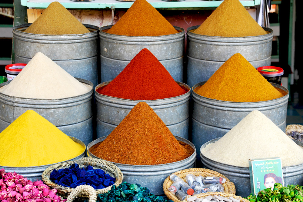 Colourful Morocco