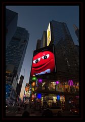 Colours of Times Square