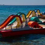 Colours on the sea