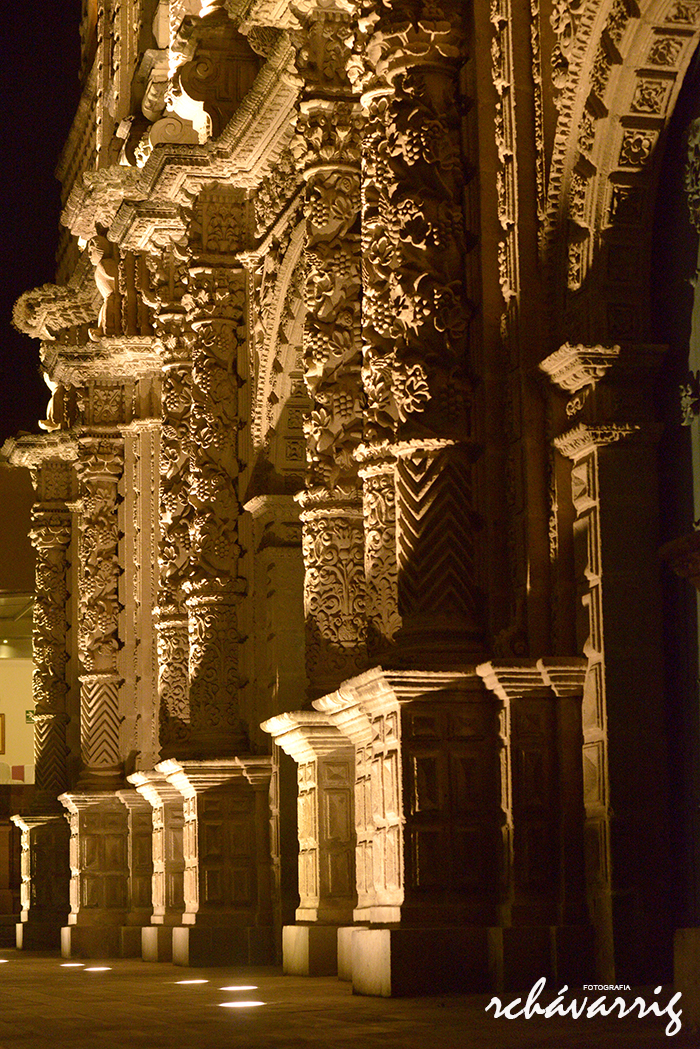 Columnas de la Catedral de Cajamarca