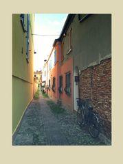 COmacchio..un vicolo e i suoi colori...