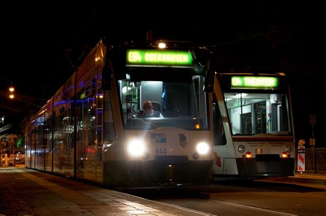 Combino 844 & 828 in Augsburg
