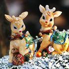 Comet, Cupid, Donner, Blitzen, Dasher, Dancer, Prancer, Vixen und natürlich Rudolph...