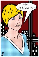 Comic-Art nach Roy Lichtenstein