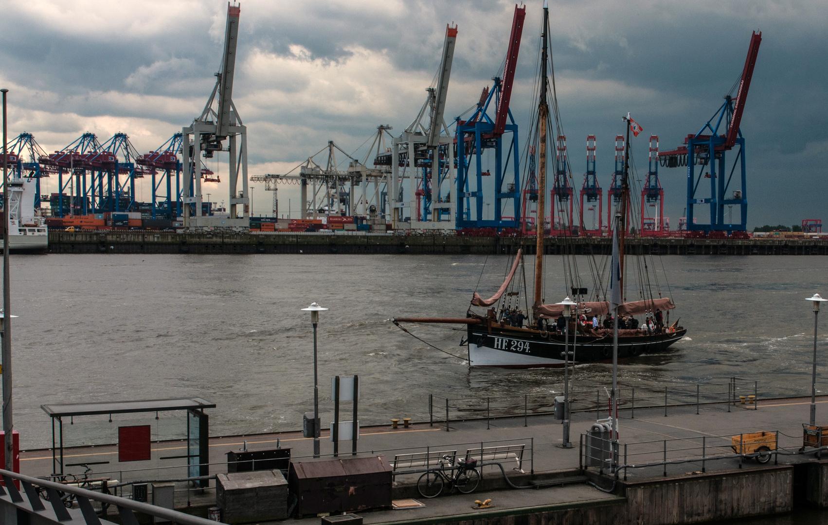 Coming home to good old Hamburg