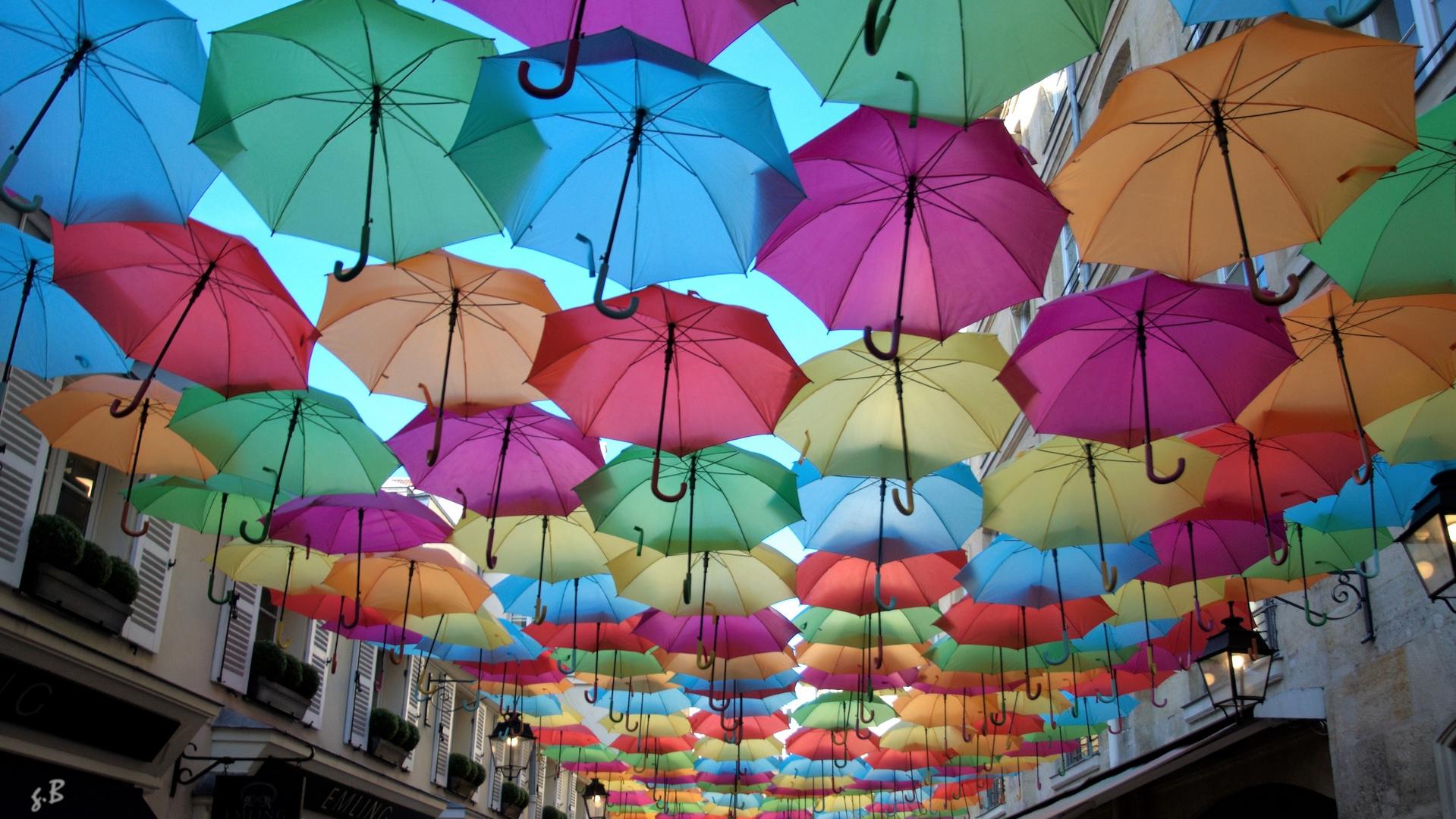 comment mettre de la couleur un jour de pluie