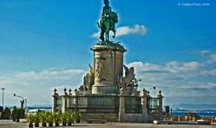 Commercial Platz, Dom Jose 1st Reiterdenkmal, Lissabon , Praca Do Comercio