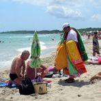 Commercio in spiaggia!