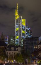 Commerzbank - Frankfurt am Main @ Night