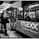 Commuters in Maxx