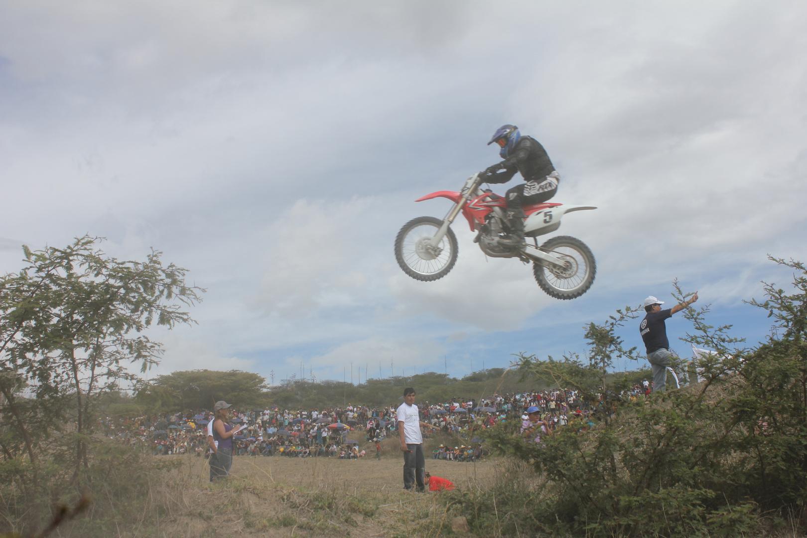 Competencia de Motocross en San marcos Cajamarca perú