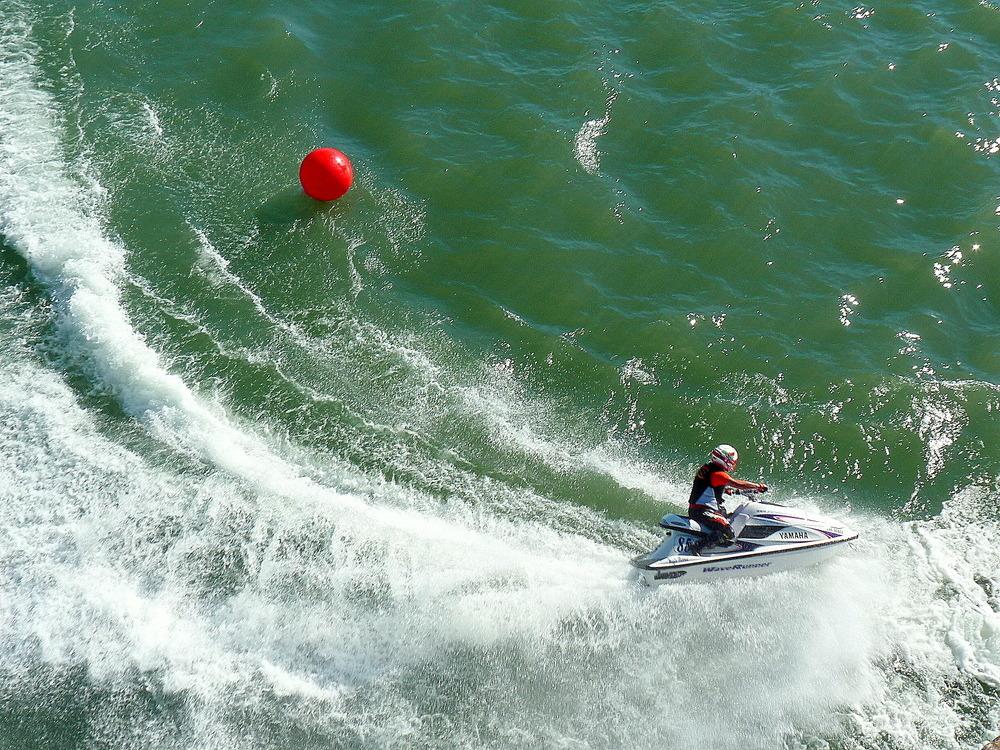 Compétition de Jet-Ski à Avignon