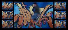 Composición Saltos & Grafitis